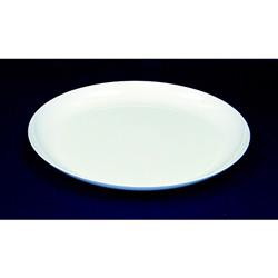 WNA Comet Plastic Plate, 9 in,White