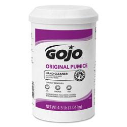 Gojo Original Pumice Hand Cleaner, Lemon, 4 1/2 lb Cartridge, 6/Carton