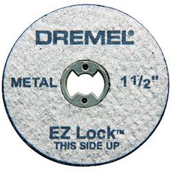 Dremel EZ456 EZ Lock 1-1/2 in Cut-off Wheels