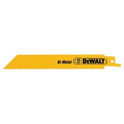 Dewalt Tools 8 in 18 TPI STR BACK BI-METAL RECIP BL (100 PACK)