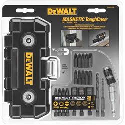 Dewalt Tools 20 PC IMPACT READY TOUGHCASE SET