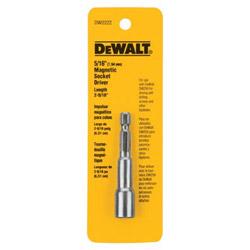 """Dewalt Tools 5/16"""" x 2-9/16"""" Mag Socket"""