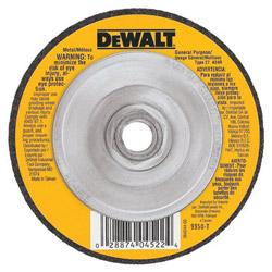 Dewalt Tools DW4514B5 Heavy Duty 4-1/2 in x 1/4 in x 7/8 in Metal Grinding Wheel
