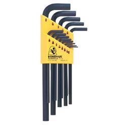 Bondhus 13- Piece Hex L-wrench Setlong .050-3