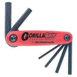 Bondhus 1.5 mm -6 mm Gorilla Grip Foldup Tool Set