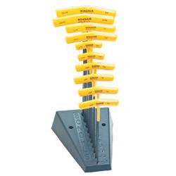 Bondhus T-handle Hex Key Setw/Stand