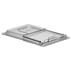 Cambro Food Box Sliding Lid 12 in X 18 in Camwear® Clear