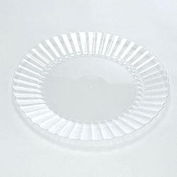 EMI Yoshi Plastic Salad Plate, 7.5 in, Clear