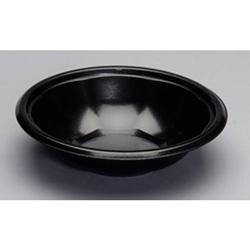 Genpak Laminated Foam Utility Bowl, 32 OZ, Black