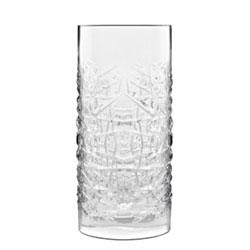 Bauscher Hepp Luigi Bormioli Mixology 16.25 oz Textures Hi-Ball Drinking Glasses