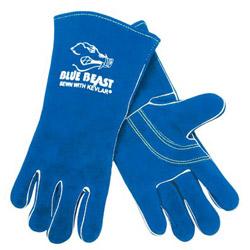 "Memphis Glove 13"" Blue Beast Welders Gloves ReinForced"