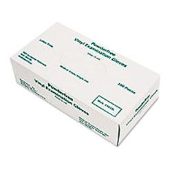 Memphis Glove Disposable Vinyl Gloves, Large, 5 mil, Medical Grade