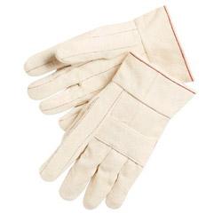 Memphis Glove 24 Oz.100% Cotton Hot Mill Gloves Knuckle Str