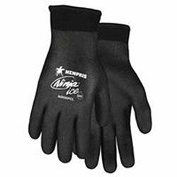 Memphis Glove Ninja Ice Gloves, Large, Black