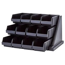 Cambro Organizer Versa Pack 12 Bin Black
