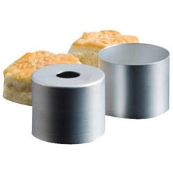 "American Metalcraft 3"" Diameter Aluminum Biscuit Cutter"