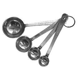 Libertyware Standard Duty Stainless Steel Measuring Spoon Set