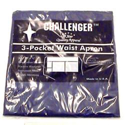 Challenger 3 Pocket Navy Waist Apron