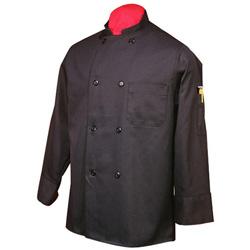 International HiLite Chef Coat Black L