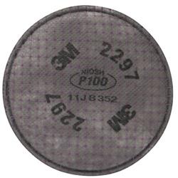 3M 2297 Advanced Particulate Filter- P100 100/Cs
