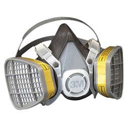 3M 21579 Half Mask Respirator Large for Organic V