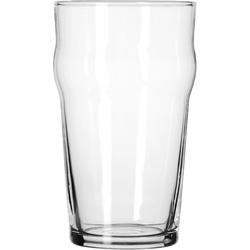 Libbey English Pub Glasses, 20 oz, Clear