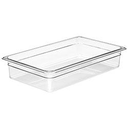 Cambro Food Pan 1/1 X 4 in Camwear® Clear