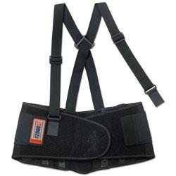 Ergodyne ProFlex 2000SF High-Performance Spandex Back Support, X-Large, Black