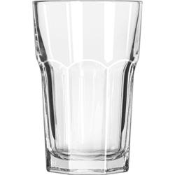 Libbey 15237 10 Ounce Duratuff Gibraltar Hi Ball Glass, Clear