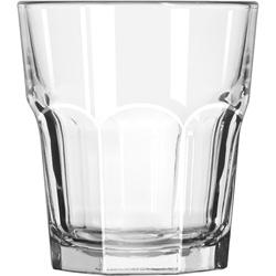 Libbey 15243 12 Ounce Duratuff Gibraltar Rocks Glass, Clear