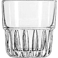 Libbey 15432 7 Ounce Duratuff Everest Rocks Glass, Clear