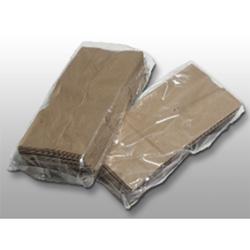 Elkay Low Density Gusset Bag, 8 x 4 x 18