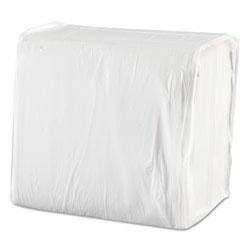 Morcon Paper Morsoft Dinner Napkins, 1-Ply, 15 x 17, White, 250/Pack, 12 Packs/Carton