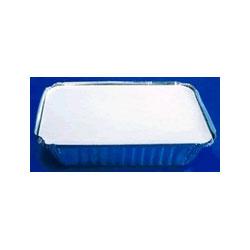 """Handi-Foil 2062L Laminated Foil Board Lids, 8 7/16"""" x 5 7/8"""""""