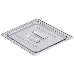 Cambro Food Pan Lid 1/2 Camwear® Handle Clear