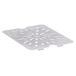 Cambro Food Pan Drain Shelf 1/2 Polypropylene Translucent