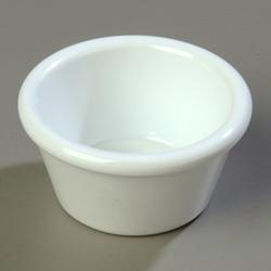 Carlisle Foodservice Products Smooth Ramekin, 2 OZ, White