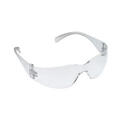 AO Safety Virtua Protective Eyewear, Clear Frame/Clear Lens, Anti-Fog Hard-Coat