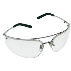 AO Safety Metaliks Safety Glasses, Mirror Hard Coat Lens, Metal Frame