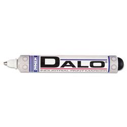 Dykem DALO Industrial Paint Marker Pens, Medium Bullet Tip, White
