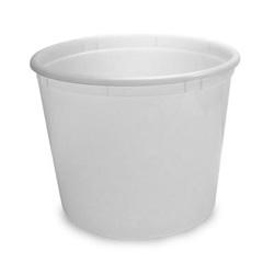 Berry Plastics Plastic Container, 10 LB, Translucent