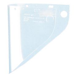 Fibre-Metal High Performance Faceshield Window, 9 3/4 in