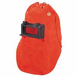 Fibre-Metal Leather Welding Hoods, Orange