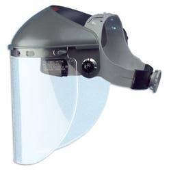 Fibre-Metal High Performance Faceshield Headgear, 4 in Crown