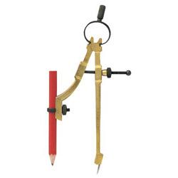 General Tools Pencil Compass Divider& Scriber w/Pencil