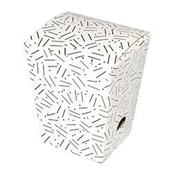 BOXit 3x2-5/8x5 White Handi-snack Box