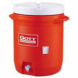 Gott Water Coolers, 10 gal, Orange