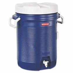 Rubbermaid Water Coolers, 5 gal, Modern Blue