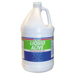 ITW Dymon LIQUID ALIVE Odor Digester, 1 gal Bottle, 4/Carton