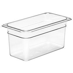 Cambro Food Pan 1/3 X 6 in Camwear® Clear